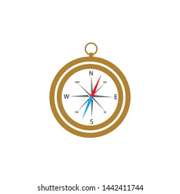 Compass Logo Template vector icon illustration design