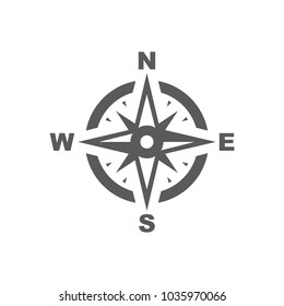 compass navigations rose icon