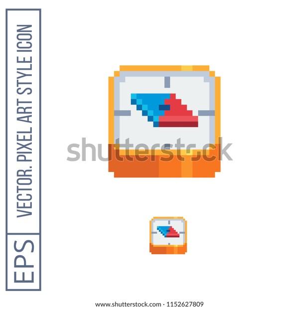 compass-pixel-art-flat-style-600w-1152627809 Pixel Art Website Design @koolgadgetz.com.info