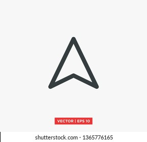 Compass Point Icon Vector Illustration