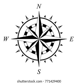 compass rose compassrose wind rose marine navigation isolated background vector eps