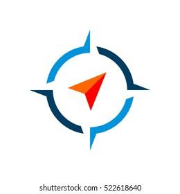 Compass Rose Logo Template