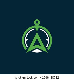 Compass Symbol Vector Royalty Logo Design Inspirations