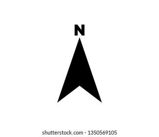 compass vector icon template