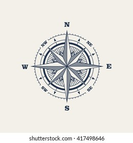 Compass / Vector illustration