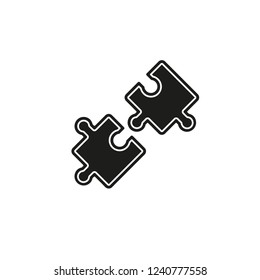 compatibility icon. Simple element illustration. compatibility concept symbol design. Can be used for web and mobile