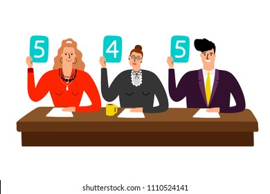 Judge Score Card Images, Stock Photos & Vectors | Shutterstock