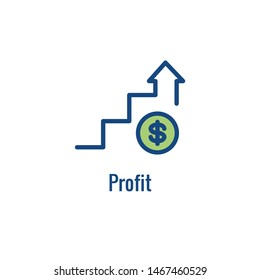 Competitive Pricing Icon Showing an aspect of  Pricing, Growth, Profitability, or Worth