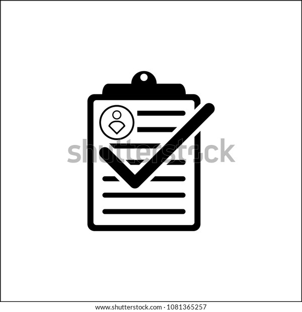 Compliance Checklist Icon Transparency Background Check