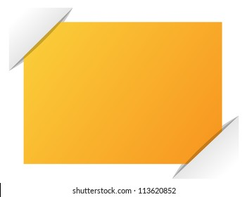 Composite empty page with places for photo, eps10 vector background