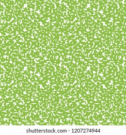 Composition Book Cover Seamless Pattern - Abstract design of light green composition notebook cover