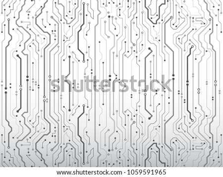 puter munication cybernetic element circuit board stock vector Basic Home Electrical Circuits puter munication cybernetic element circuit board vector illustration high tech technology background texture