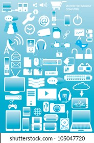 Computer & Devices icons  vector