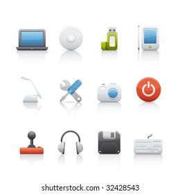 Computer Equipment Icon Set