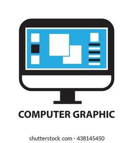 computer graphic ,icon and symbol