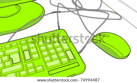 Computer Keyboard Wires Mouse Stock Vector (Royalty Free) 74994487 on computer keyboard circuit diagram, computer layout qwerty keyboard, cell phone wiring diagram, vacuum tube wiring diagram, 3 phase delta transformer wiring diagram, kinect wiring diagram, computer keyboard lights, hard drive wiring diagram, basic wiring diagram, speakers wiring diagram, computer keyboard keys layout, modem wiring diagram, computer keyboard color diagram, headphones wiring diagram, ct shorting block wiring diagram, projector wiring diagram, email wiring diagram, joystick wiring diagram, radio wiring diagram, computer keyboard plug diagram,