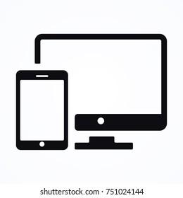 computer mobile icon