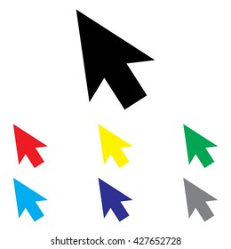 Computer Mouse Arrow Set
