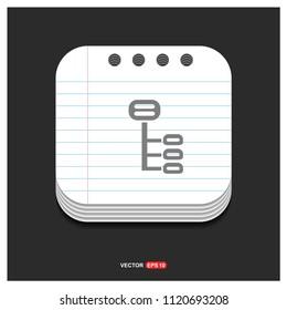 Computer Network Icon - Free vector icon