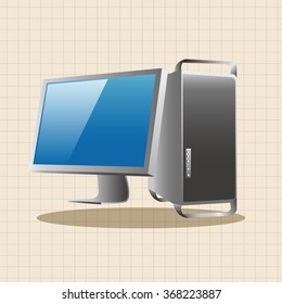 computer theme elements