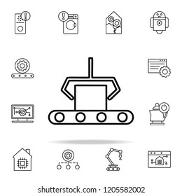 computer-aided manufacturing icon. Automation icons universal set for web and mobile
