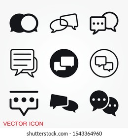 Comunication icon. Data Comunication Icon Collection icon vector symbol