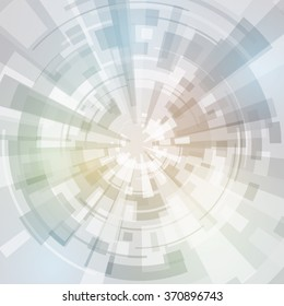 concentrate abstract image, vector illustration