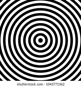 Concentric cirlces, concentric rings abstract geometric element