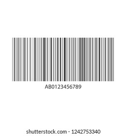 Concept barcode information. Strip code data. Price and identification of product