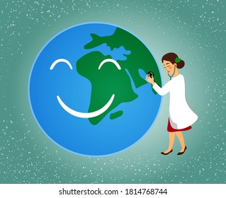 "The concept ""environmental doctor"" explores the planet Earth"