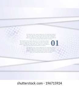 Concept hi-tech modern abstract background. Vector