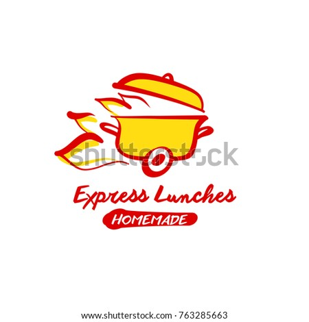 Concept Image Template Logo Design Fast Stock Vector Royalty Free