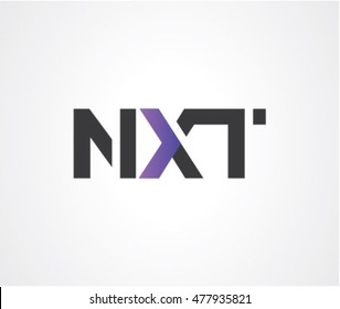 Concept of NEXT logo, growth & next generation tool etc.