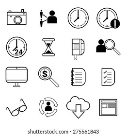concept of outsourcing work, freelance work, and talent search for human resource infographic