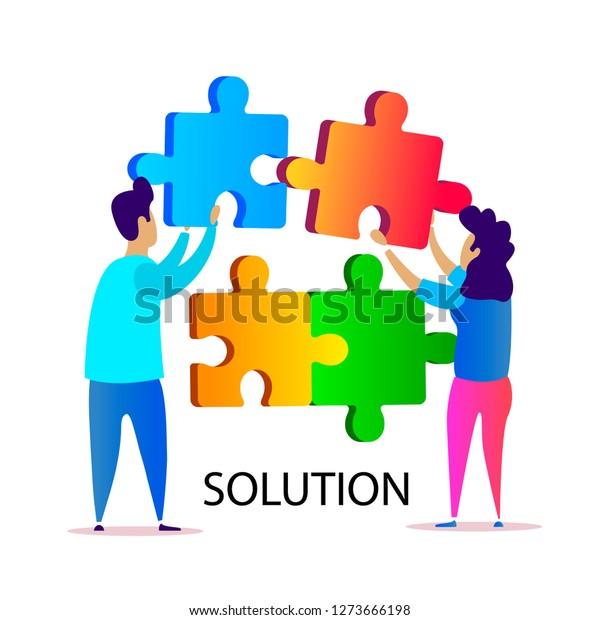 Concept Problem Solving Strategy Building Development Stock