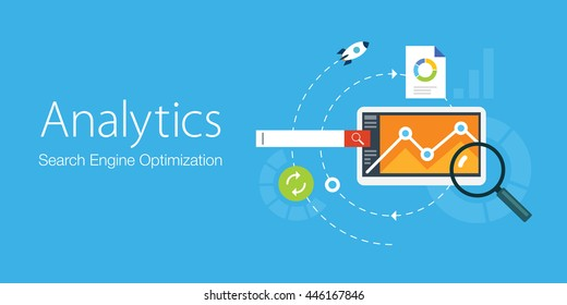 Concept for search engine optimization and analytics elements