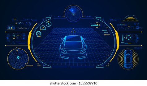concept of smart car technology