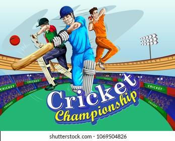 Cricket Tournament Images, Stock Photos & Vectors | Shutterstock