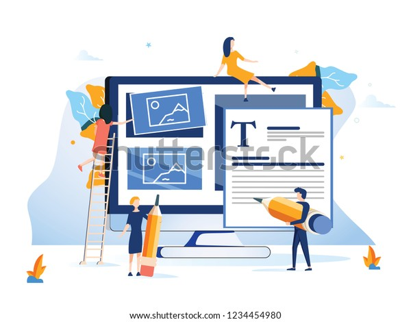 Concept Ux User Experience Development Design Stock Vector Royalty Free 1234454980