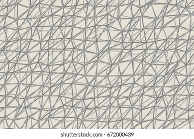 Conceptual geometrical background, for web page, graphic design, catalog or texture. Pattern of triangle strip shape. Vector illustration graphic.