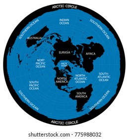 New Flat Earth Map.Flat Earth Images Stock Photos Vectors Shutterstock