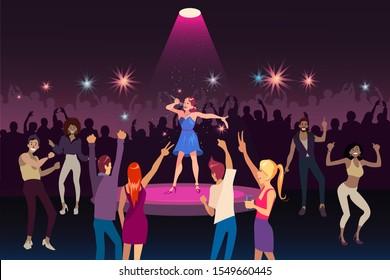 Перфоманс в ночном клубе клуб нумизматика в москве