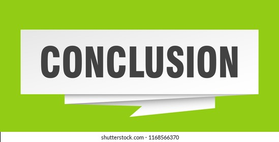 conclusion images stock photos vectors shutterstock
