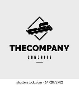 CONCRETE COMPANY GRUNGE LOGO VECTOR