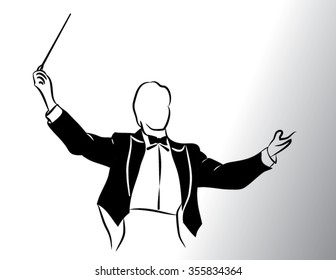 conductor  isolated illustration