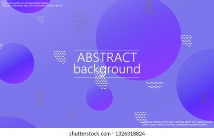 Conference design template. Creative colorful wallpaper. Trendy gradient poster. Minimal abstract cover design. Vector illustration.
