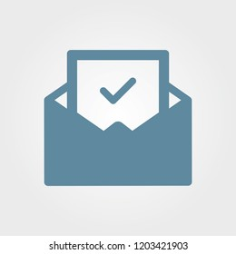 Confirmation Letter Icon