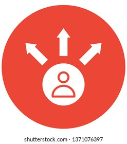 Confused step Isolated Vector Icon which can easily modify or edit