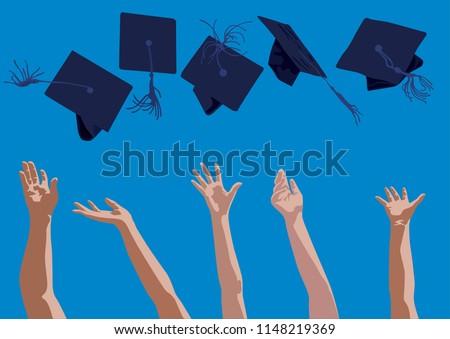 congratulation graduation stock vector royalty free 1148219369