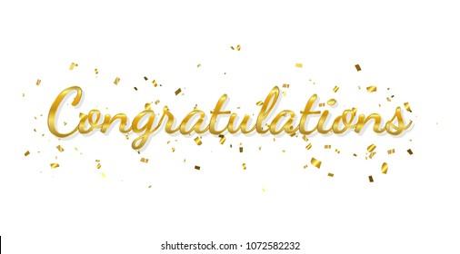 Congratulations Images, Stock Photos & Vectors | Shutterstock